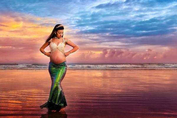 Sereias grávidas: 10 ideias para fazer o ensaio gestante do momento!