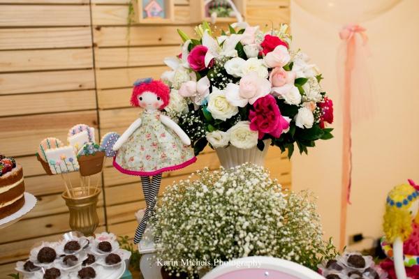 Chá de bebê de bonecas de pano: uma festa linda para você se inspirar!