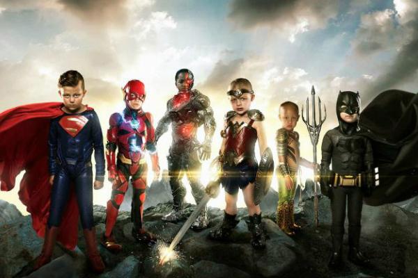 Fotógrafo cria a Liga da Justiça mais corajosa que você já viu
