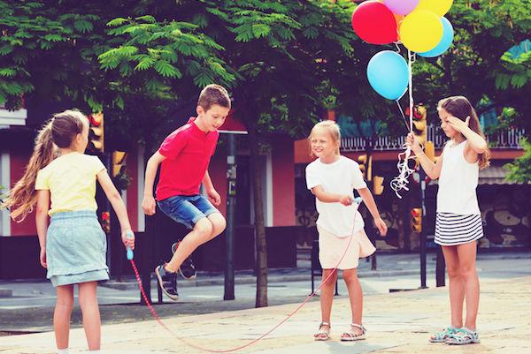 4 brincadeiras diferentes com corda