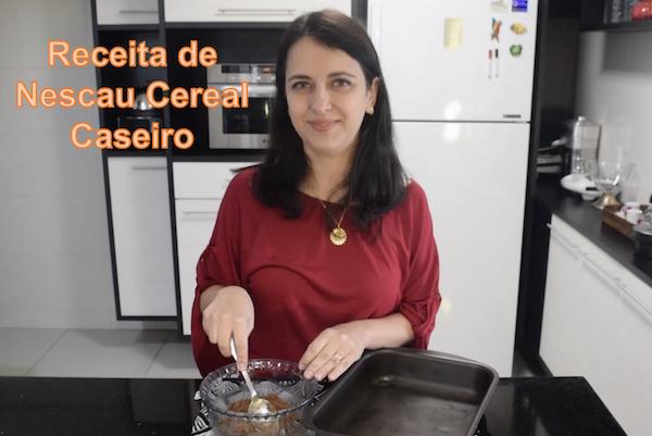 Receita de Nescau Cereal para fazer em casa (inacreditável)!
