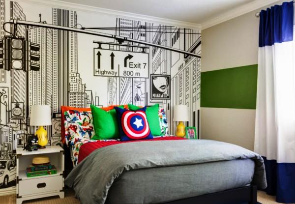 Quarto de super-heróis: 40 ideias de decoração poderosas!