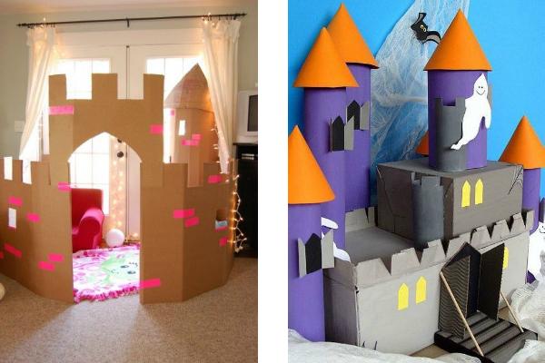 4 castelos para você fazer em casa (diversão garantida!)