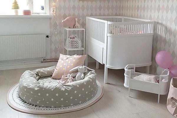 90 lindos quartos de bebê menina (você vai se apaixonar!)