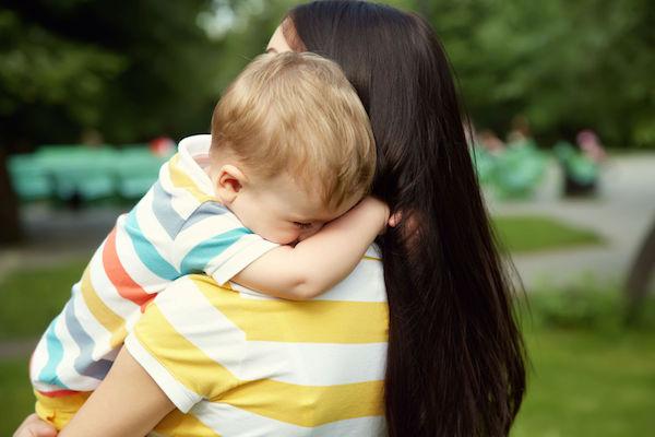 Angústia de separação ou grude de mãe?