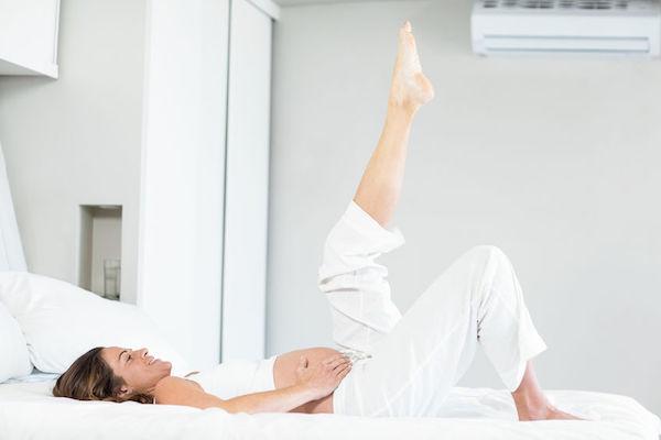 6 exercícios fáceis para aliviar desconfortos na gravidez