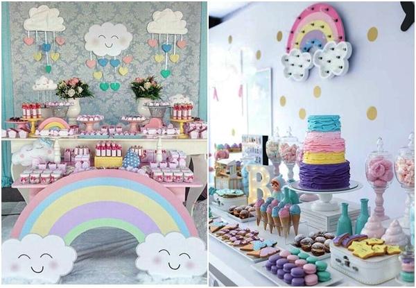 Chá de bebê arco-íris: mil ideias para se apaixonar!