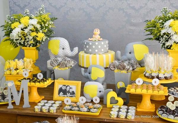Chá de bebê elefantinho: 30 inspirações para uma festa dos sonhos