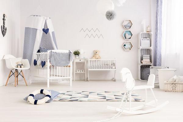 4 erros que você não pode cometer no quarto do bebê