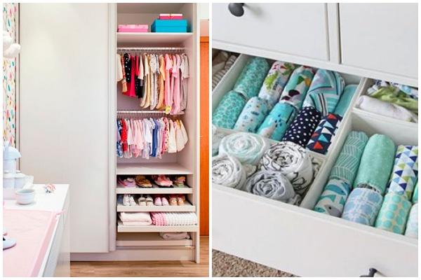 Guarda-roupa do bebê: dicas inteligentes para organizar!