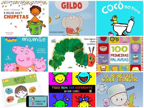 Os 20 melhores livros infantis para bebês de 0 a 2 anos!