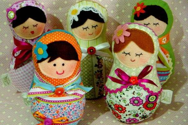 Ideias incríveis para fazer matrioskas em casa (entre no clima da Copa da Rússia!)