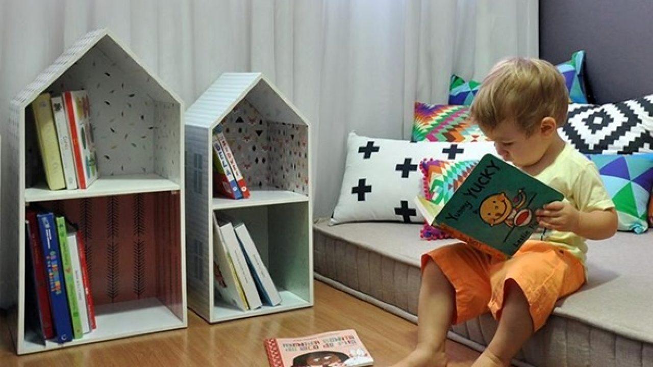 20 ideias para organizar os livros das crianças : ᐅ Mil