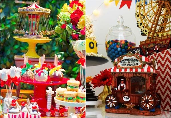 Festa parque de diversões: muita fofura para o próximo aniversário