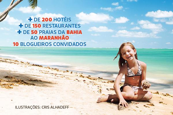 """Guia de viagem """"Praias do Nordeste com crianças"""": super completo!"""