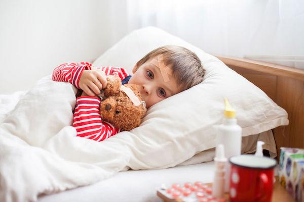Meu filho ficou doente: como manter os bons hábitos de sono?