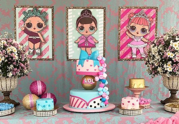Festa LOL Surprise: mais de 50 ideias lindas para sua filha!
