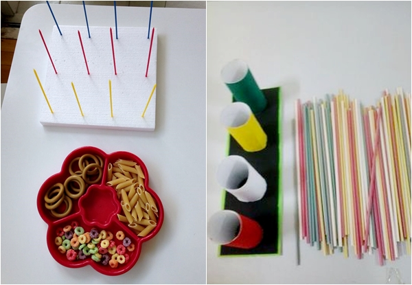 Brinquedos de encaixe: ideias bacanas para fazer em casa!