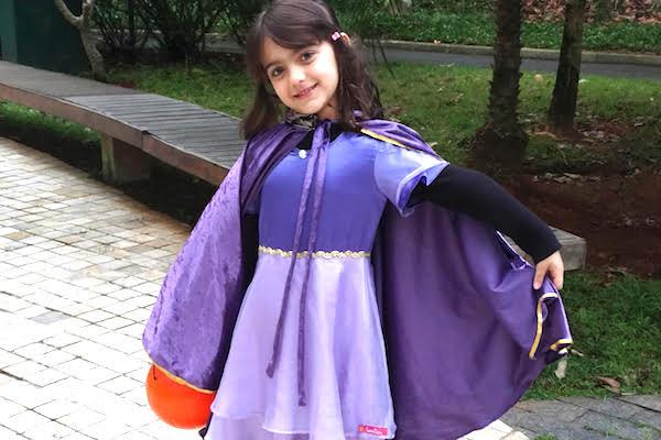 Por que acho bacana minha filha comemorar o Halloween (mesmo estando no Brasil)
