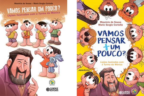 Livros da Turma da Mônica e Cortella: um show para crianças (e pais!) inteligentes