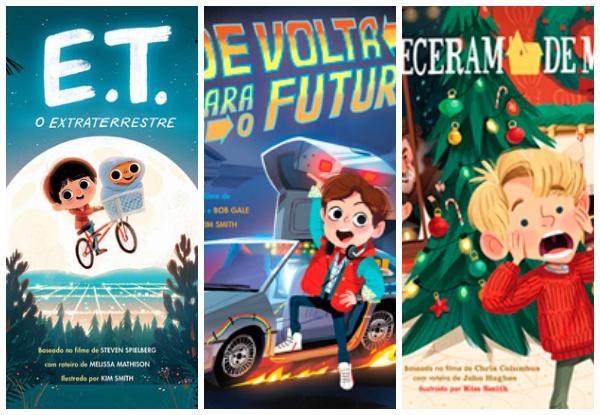 Os livros infantis dos filmes da nossa infância (demais!)
