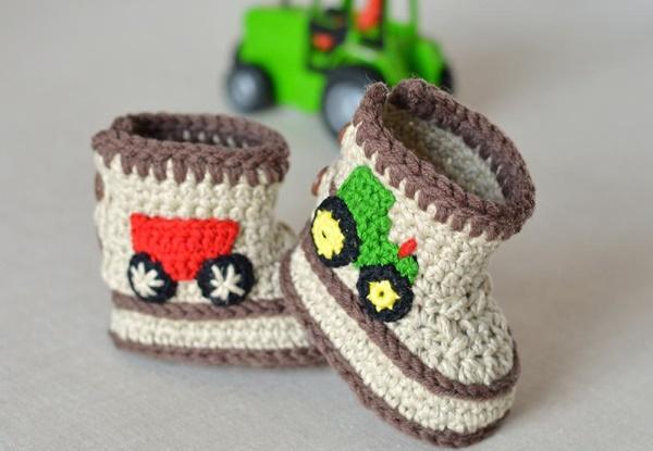 Sapatinhos de bebê feitos à mão: veja esses modelos lindos!
