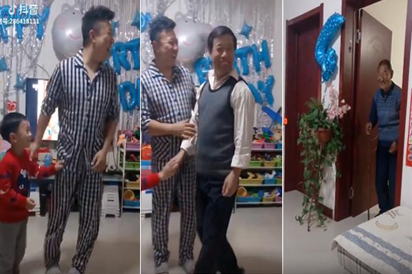 O vídeo fofo de família que se tornou viral