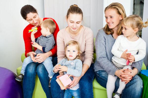 Amigos que a vida (e a maternidade) nos dá