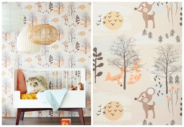 Papel de parede em quarto infantil – como usar?