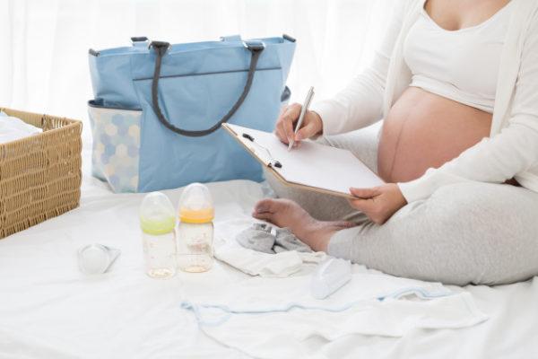 mala de maternidade