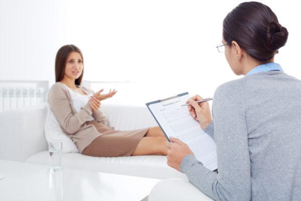 mulher na psicologa